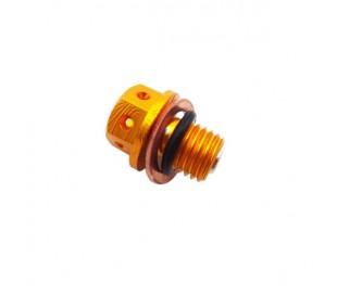 Magnetic drain cnc screw carter