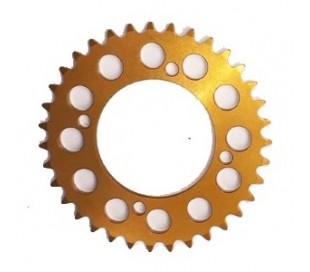 Corona aluminio 420 dorado