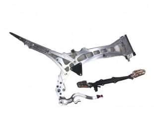 Chasis CRF50 aluminio mecanizado